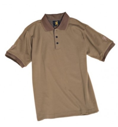 Tricou Polo Kaki Savannah Browning