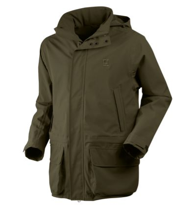Jacheta de vanatoare Harkila Orton Packable verde inchis impermeabilă